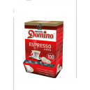 DOMINO 100St.KAFFEEPADS ESPRESSO-REGULAR-PLUS